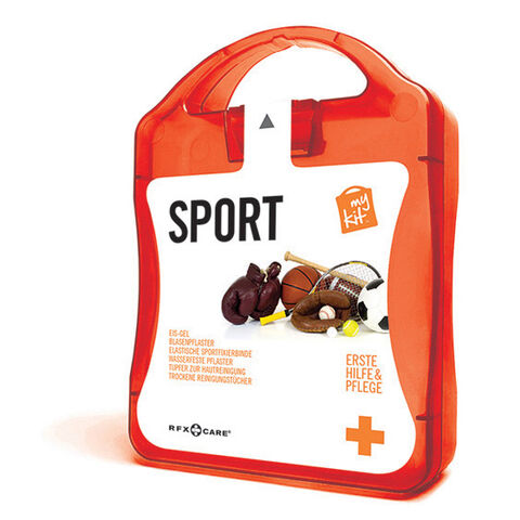 werbeland®-News: MyKit-Sport-Set in orange.